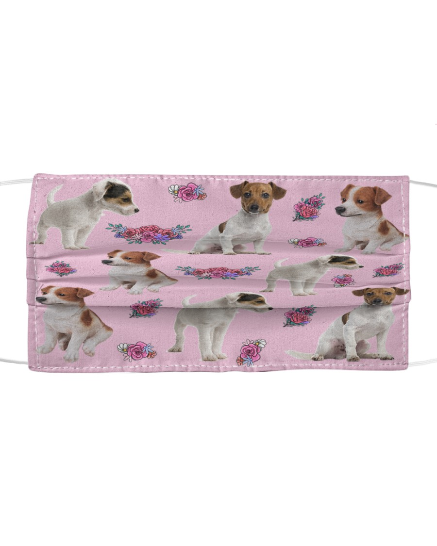 Jack Russell Terrier Face Mask Cloth face mask
