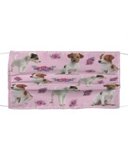 Jack Russell Terrier Face Mask Cloth face mask front
