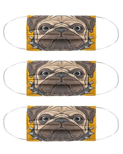 Pug New Face Mask