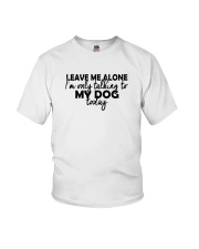 DOGS Youth T-Shirt front