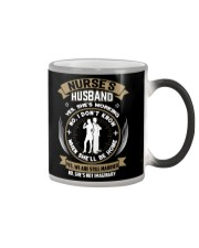 NURSE'S HUSBAND Color Changing Mug thumbnail