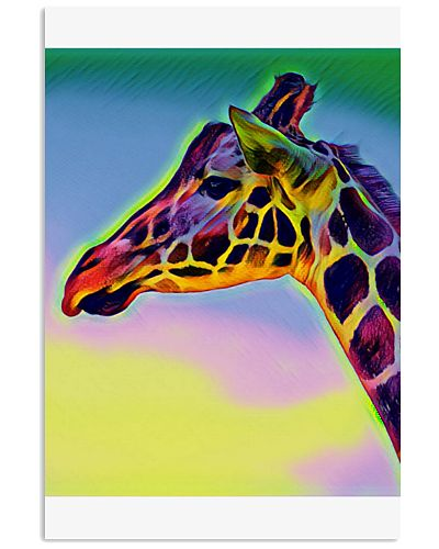 Colorful Giraffe design
