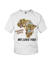 Amazing Africa We Love You Youth T-Shirt thumbnail