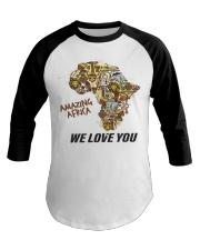 Amazing Africa We Love You Baseball Tee thumbnail