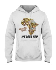 Amazing Africa We Love You Hooded Sweatshirt thumbnail