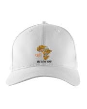 Amazing Africa We Love You Embroidered Hat tile
