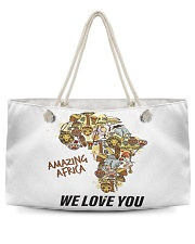 Amazing Africa We Love You Weekender Tote thumbnail