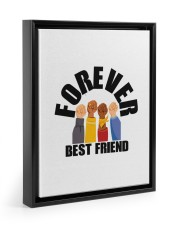 BEST FRIEND FOREVER 11x14 Black Floating Framed Canvas Prints thumbnail