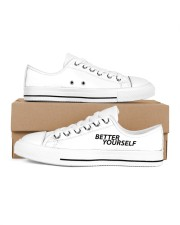Better Yourself Women's Low Top White Shoes thumbnail
