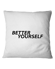 Better Yourself Square Pillowcase thumbnail