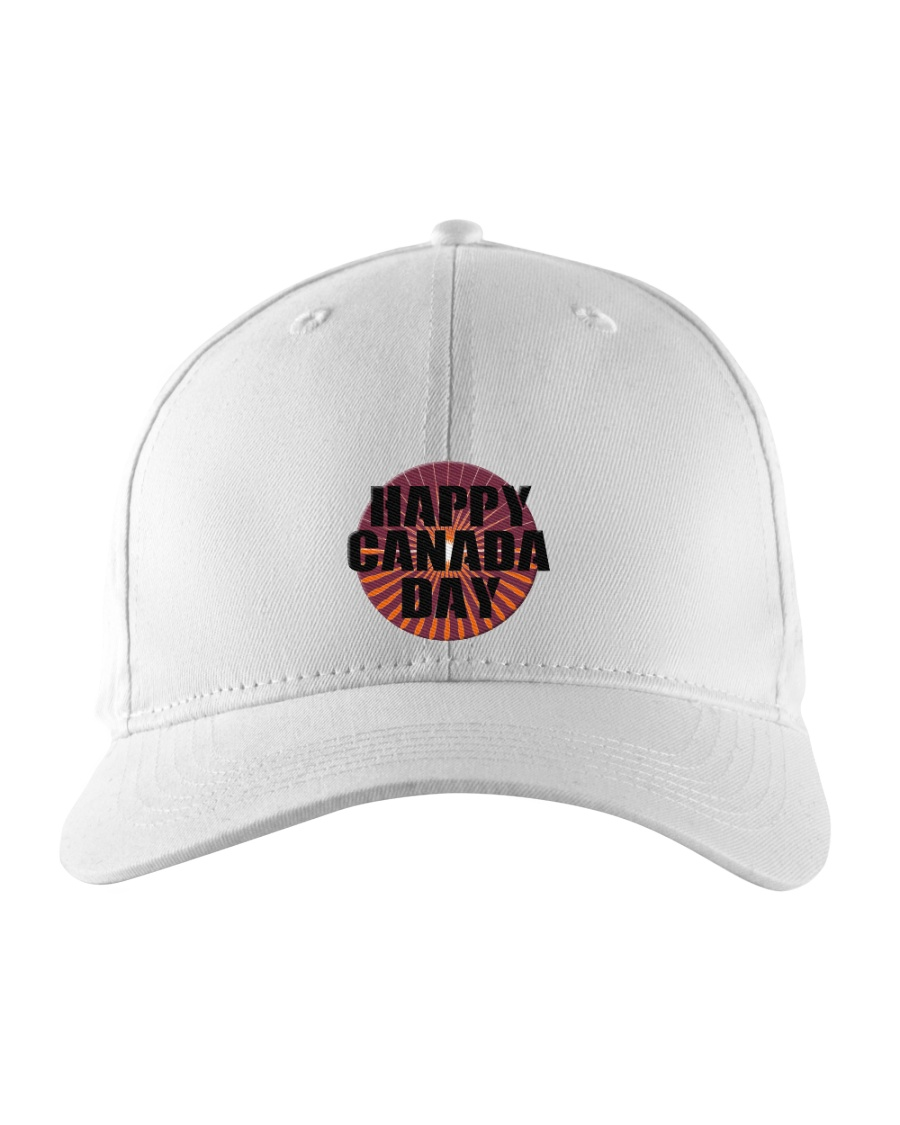 Happy Canada Day Edit Embroidered Hat