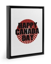 Happy Canada Day Edit 11x14 Black Floating Framed Canvas Prints thumbnail