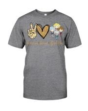 Peace Love GG Classic T-Shirt thumbnail