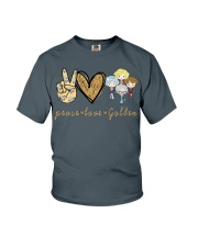 Peace Love GG Youth T-Shirt tile