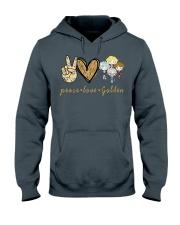 Peace Love GG Hooded Sweatshirt thumbnail