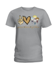 Peace Love GG Ladies T-Shirt front