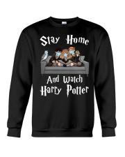 Stay Home And Watch HP Crewneck Sweatshirt thumbnail