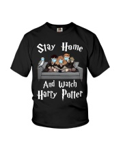 Stay Home And Watch HP Youth T-Shirt thumbnail