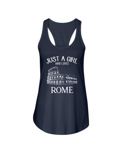 Just A Gilr Loves Rome White