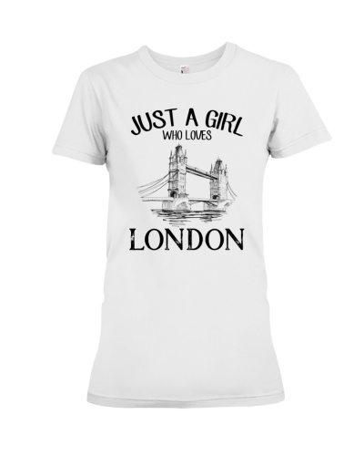 Just A Gilr Loves London
