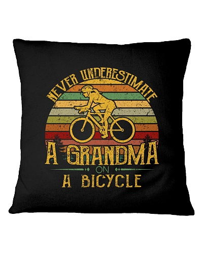 Never Underestimate A Girl On A Bicycle Vintage