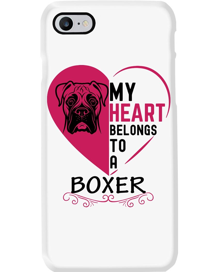 My Heart Belongs to a BOXER Phone Case