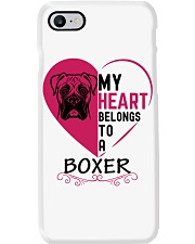 My Heart Belongs to a BOXER Phone Case i-phone-7-case
