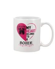 My Heart Belongs to a BOXER Mug thumbnail