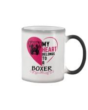 My Heart Belongs to a BOXER Color Changing Mug thumbnail