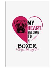 My Heart Belongs to a BOXER 11x17 Poster thumbnail