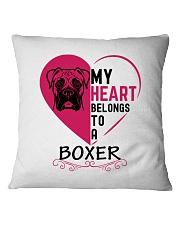My Heart Belongs to a BOXER Square Pillowcase thumbnail
