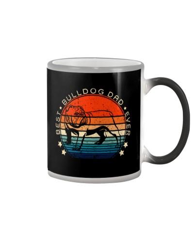 Best Bulldog Dad Ever Vintage