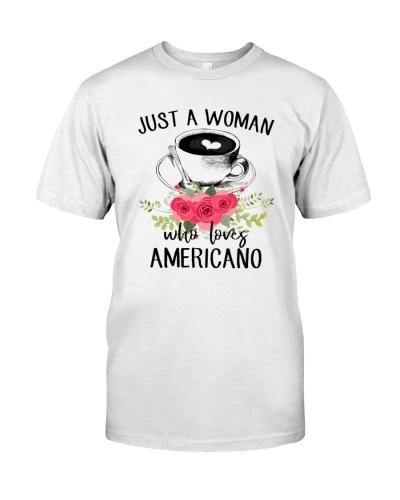 Just A Woman Love Americano 1