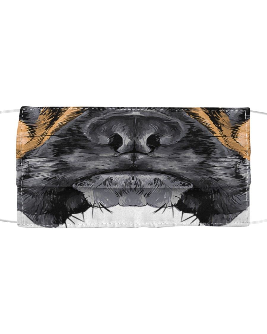 Cool Boxer dog  Cloth face mask