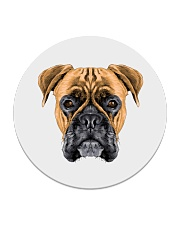 Cool Boxer dog  Circle Coaster thumbnail