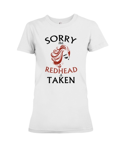 Sorry This  Redhead Taken