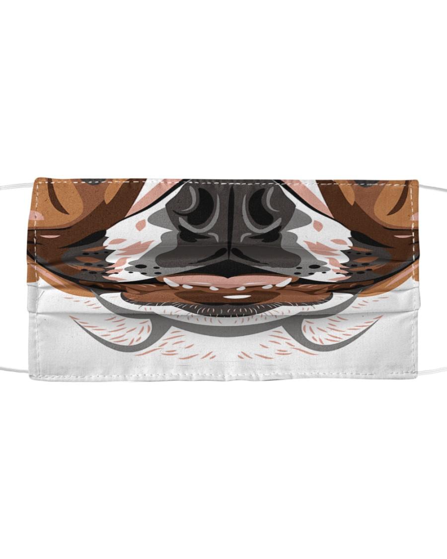 Cool Bulldog  Cloth face mask
