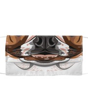 Cool Bulldog  Cloth face mask front