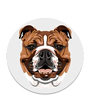 Cool Bulldog  Circle Coaster thumbnail