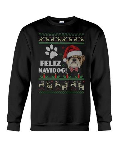 Feliz Navidog - Bulldog Lover Christmas Ugly