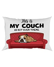 This is my couch funny pillow for bulldog lover Rectangular Pillowcase thumbnail