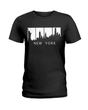 new york city Ladies T-Shirt tile