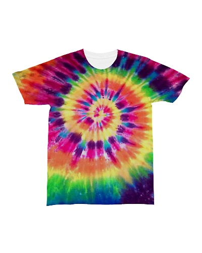 Colorful Tie-Dye T-Shirts tiedye