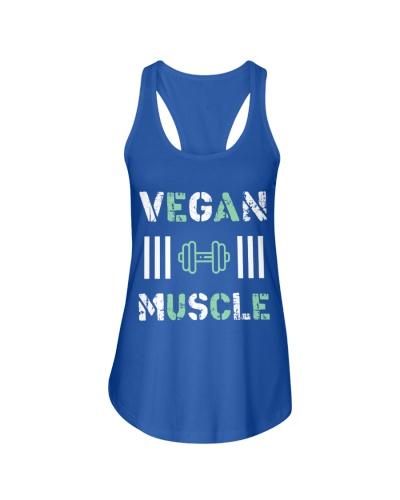 VEGAN MUSCLE T-Shirt FUNNY VEGAN saying vegetarian