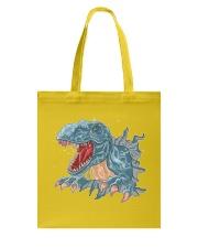T-REX Dinosaur Tote Bag thumbnail