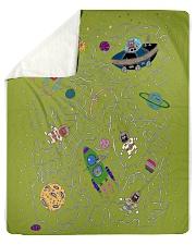 "Children's Space Sherpa Fleece Blanket - 50"" x 60"" thumbnail"