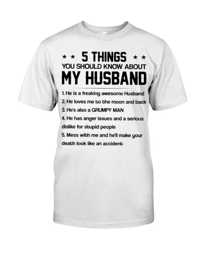 5 things my husband