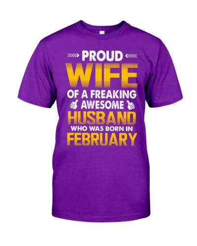 PROUD WIFE - FEBRUARY