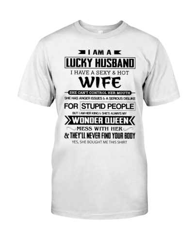 Lucky husband