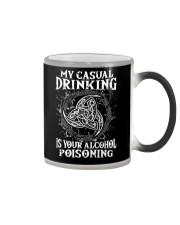 Casual Drinking Is Your Alcohol Poisoning Viking  Color Changing Mug thumbnail